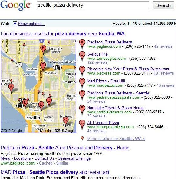 google-local-results